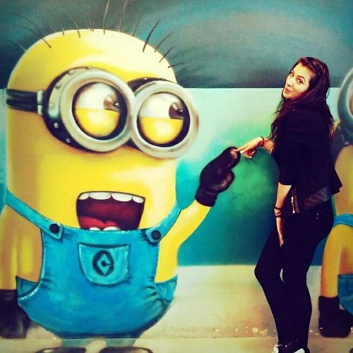 Minions Timetohavefun Loveitsomuch Lol :) Behappy Beautiful Day