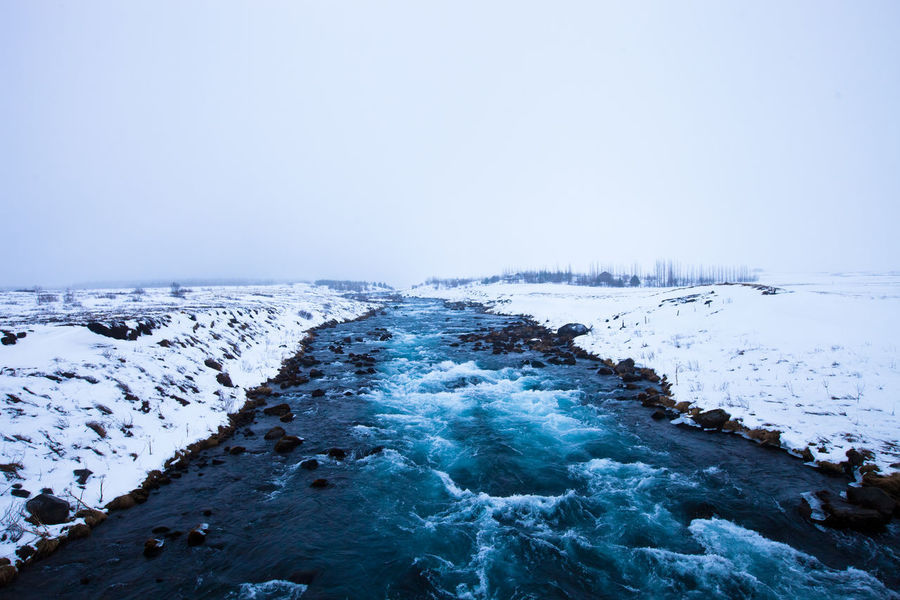 Tungufljót river - iceland - winter - landscape Blue Cold Cold Temperature Front View Frozen Horizon Over Water Ice Iceland Landscape Motion Nature Nature Outdoors Power In Nature Rippled River Rock - Object Scenics Snow Splashing Water Waterfront Weather Window Winter