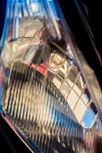 head lamp of motorbike Lamp Reflection Abstract Front Lamp Sparkling Graphic Design Lighting Equipment Close Up