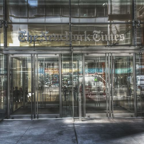 The New York Times Architecture Built Structure Business Finance And Industry Building Exterior City No People Urban EyeEm Best Shots EyeEmBestPics Architecturelovers Architecture_collection News Newspaper Read Knowledge New York NY