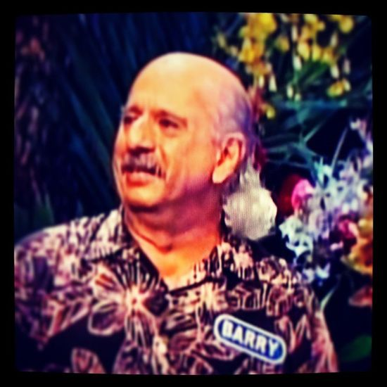 Wheel of Fortune contestant Barry from Hawaii had one bad mama jama mullet! WheelofFortune Mullet Gameshow Hair hawaii tv android note4 flowers