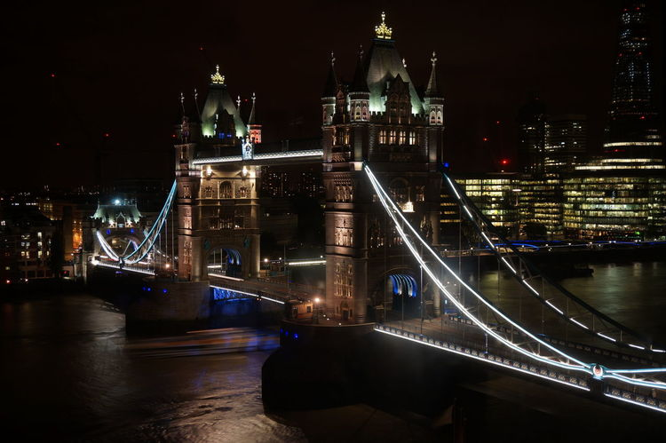 Bridge Bridge - Man Made Structure Famous Place International Landmark London London Tower Bridge Long Exposure Sightseeing Tower Bridge  Travel Destinations Pmg_lon