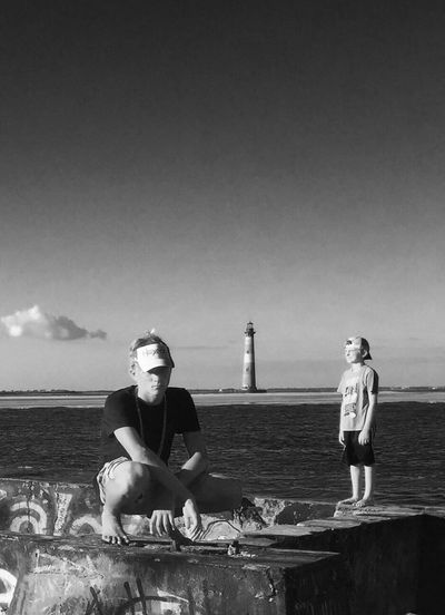 EyeEmNewHere The Week On EyeEm Lighthouse Blackandwhite Photography Folly Beach Beach