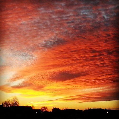 Nofilter Sunset Oldpic Pretty Colors FeltLikeaDream Wonderwednesday Wishingwednesday