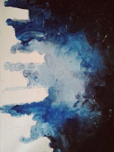 Studio Shot One Person Abstract Day Close-up Painting Art Painted Colors Color Palette Color Portrait Minha Arte