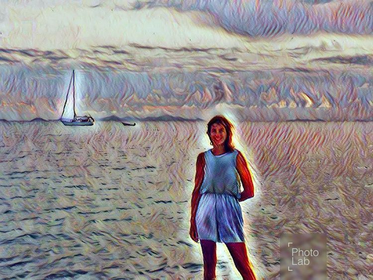 One Person Hanging Out Special Effect Boating Pastel Colored Seashore Photography Horizon Over Water Travel Destinations VirginIslands