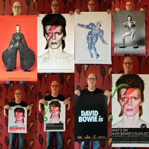 Today came 8 giga posters/prints Davidbowie Davidbowieis Davidbowiefans