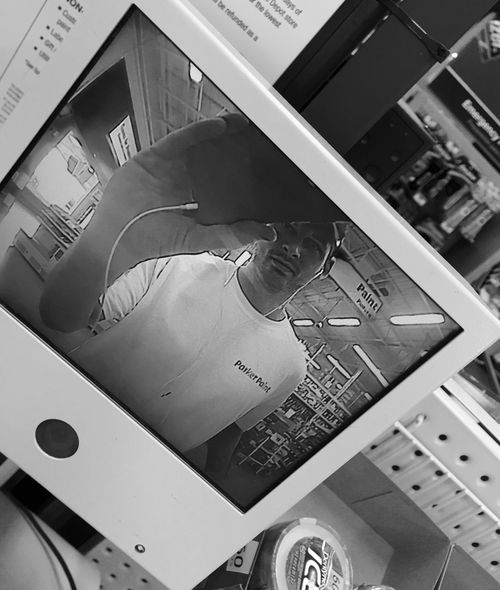 Taking a selfie through a selfie? Hellz yeahs boyeeee!! Selfie Home Depot Black And White IPhoneography Blackandwhite