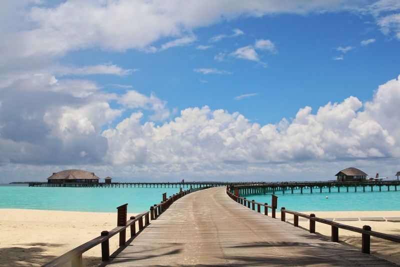 Traveling Irufushi Maldives Clouds And Sky Sea And Sky Taking Photos Holiday Island