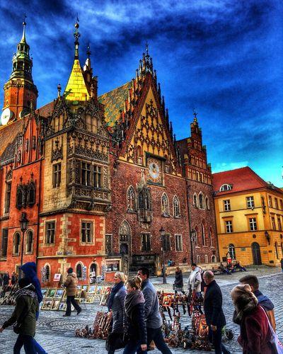 Wroclaw Mainsquare City Home Kochamwroclaw First Eyeem Photo