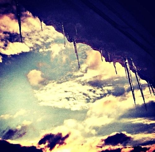 Ice Sky Clouds And Sky