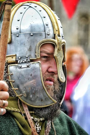 Reinactment Close-up Headshot Metal Protection Beard Beardman Beardlife Beardlover Beardstyle Helmet Helmets Required Helmet Classic Chain Mail