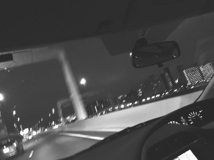Night Iphonephotography Nightcars Nightdrive Road City Life On The Move Inthecar