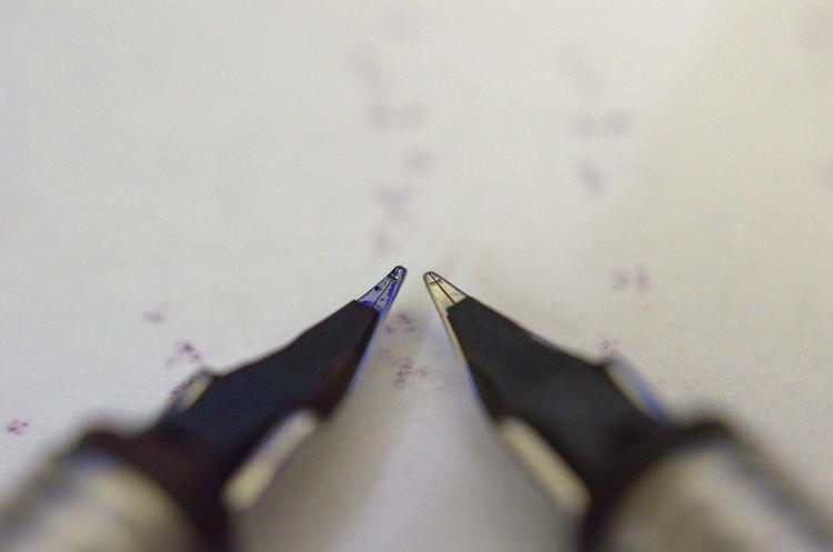 Nib Fountain Pen Fountain Pen Nib Macro Wear