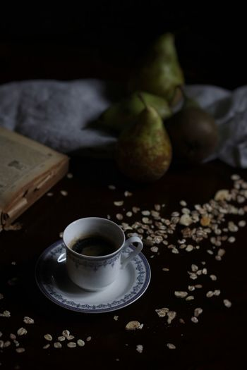 Food And Drink EyeEmNewHere EyeEm Best Shots Food And Drink Table Freshness Cup Drink Still Life Indoors  Food Tea Coffee Cup Close-up Wellbeing Focus On Foreground High Angle View