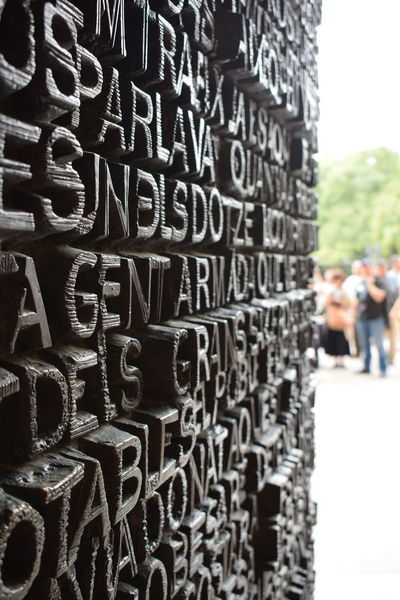 Gaudi Letters Perspective Gotic Architecture Irondoor Perspective Photography Sagrada Familia