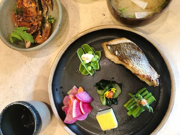 Food Japan Food Food And Drink Freshness Healthy Eating High Angle View Vegetable Wellbeing Spice Asian Food Table Ingredient Meal Bowl No People Close-up Still Life Indoors  Directly Above Oil Ready-to-eat