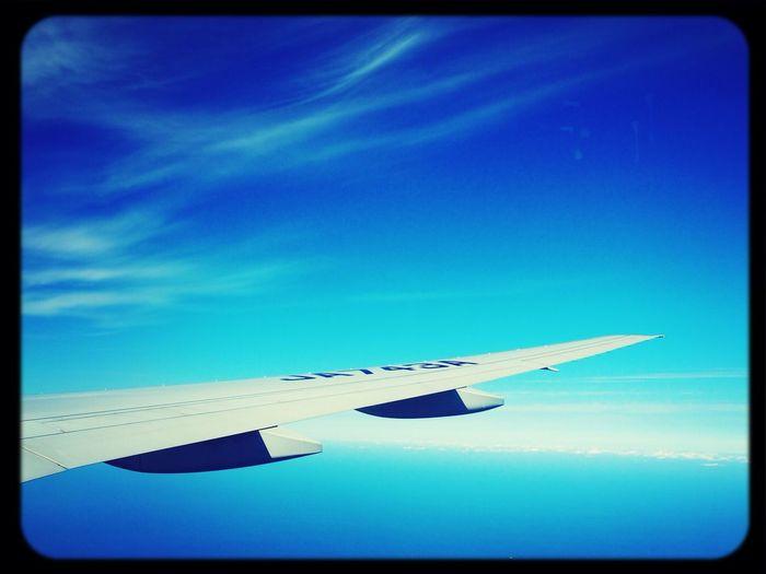Sky_collection Airplane Window Tokyo→fukuoka