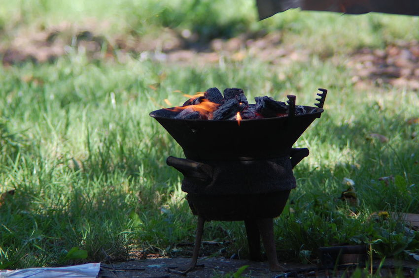 Wood coal on fire Backgrounds Barbecue Camping Coal Dancing Flames Fire Fire Flames Flame Flames Grill Heat No People Outdoors Preparation  Wood And Coal Wood Coal