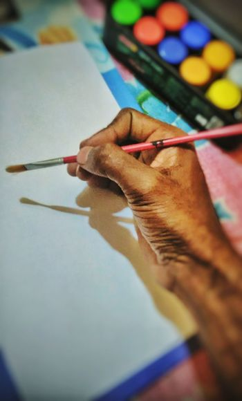 Artist brush, one of the greatest tool. Artists Painting #Creating Majestic Creater