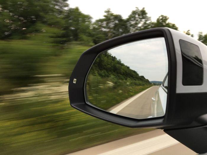 …another 170 km 'til home! Audiq7 AutobahnA7 Rearview