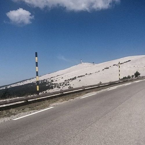 Nearly there Ventoux