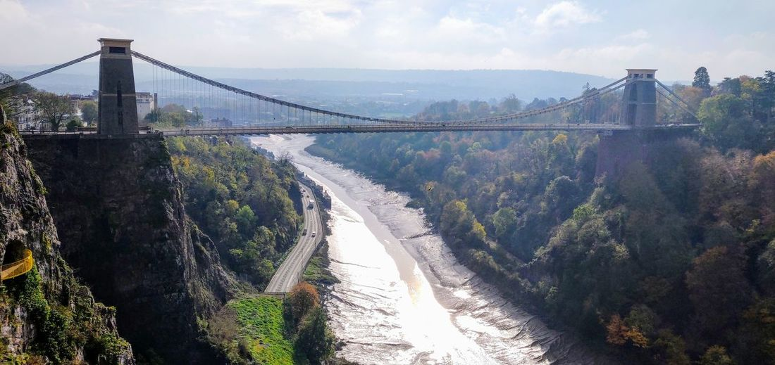 Clifton Suspension Bridge opened 1864 Photowalktheworld EyeEm Selects The Architect - 2018 EyeEm Awards Good Morning Nature Photography Landscape Countryside Amazing View Amazing architecture Amazing Nature Morning Sunlight Oneplus6 Mobile Photography City Cityscape Urban Skyline Water Suspension Bridge Mountain Bridge - Man Made Structure River Fog Sky Cable-stayed Bridge Panoramic Engineering Steel Cable Underneath