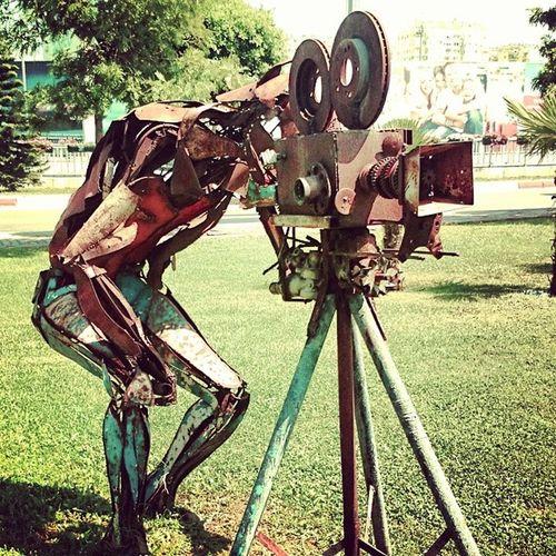 Scrap Sculptures Creative Cinematographers
