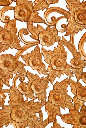 carved on wood Decor Pattern, Texture, Shape And Form Backgrounds Brown Carved Carved In Wood Carved Wood Carving - Craft Product Close-up Day Decoration Design Flower Flower Head Full Frame Nature No People Patterns Patterns & Textures Rosé White Background Wooden
