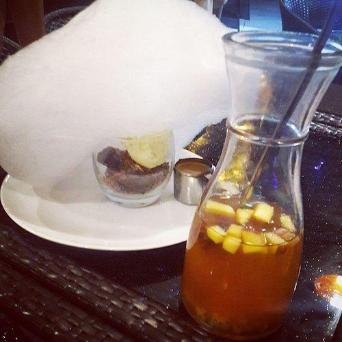 溶入心 Affogato Purecafepatisserie Dessert Cottoncandy Candyfloss Espresso