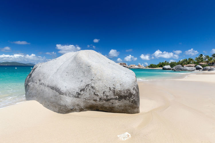 Guavaberry Virgin Gorda Beach Beauty In Nature Blue Cloud - Sky Day Horizon Horizon Over Water Idyllic Landscape Nature No People Outdoors Sand Scenics Sea Sea Life Sky Spring Bay Tranquil Scene Tranquility Travel Destinations Vacations Water