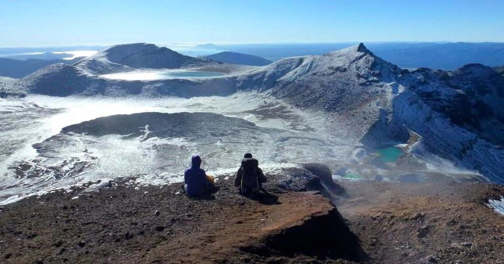 Lake Taupo Tongariro Alpine Crossing NZ New Zealand Travel Traveling Travelling Deepfreeze