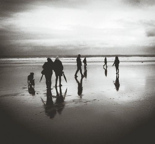 Un lugar en el mundo, un momento donde se besan, el mar y el cielo. Infinity ∞ Ocean Sky