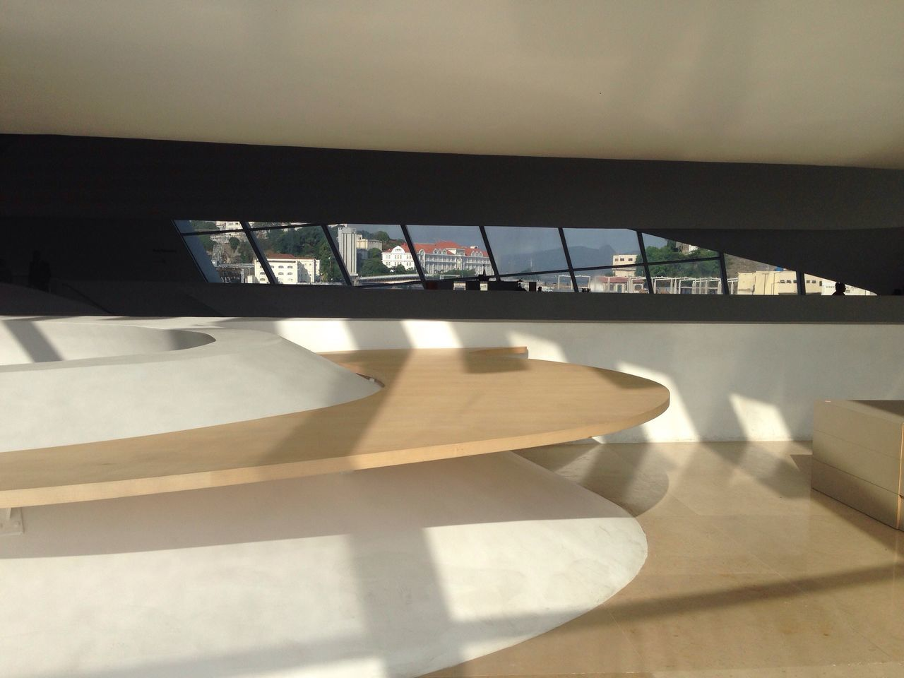 indoors, table, sunlight, no people, chair, day, window, education, shadow, architecture, library, close-up