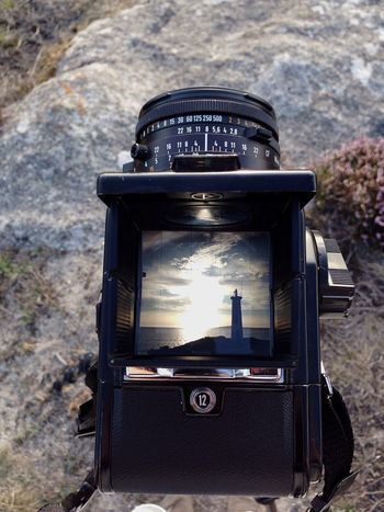 Faro Outdoors Day No People Close-up Technology Photography Themes Nature Film Industry Lighthouse Camera Film Photography Hasselblad Summer Enjoying The View