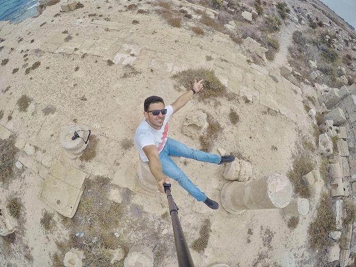 Libya Libyan Snapseed Archaeological Sabratah GoPro Hero 4 Beahero Sea Mediterranean Sea