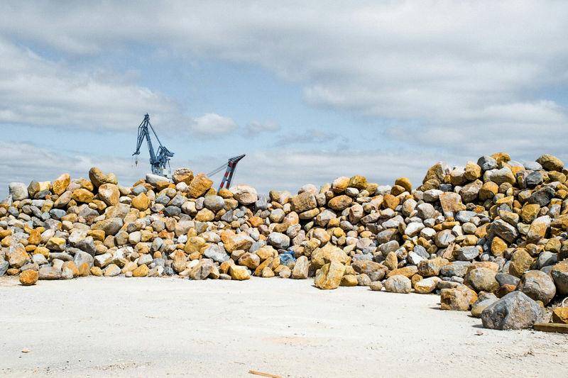 Metal monsters Harbour Aarhus, Denmark Århus Landscape Landscape_Collection Landscape_photography
