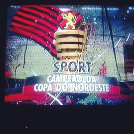 Da luta vem a vitória! Campeãodacopadonordeste Sportclubedorecife Amoreterno