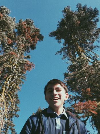 Cousin Zach IPhoneography Candid Growth One Person Day Smiling Nature Portrait Outdoors People Sky Headshot