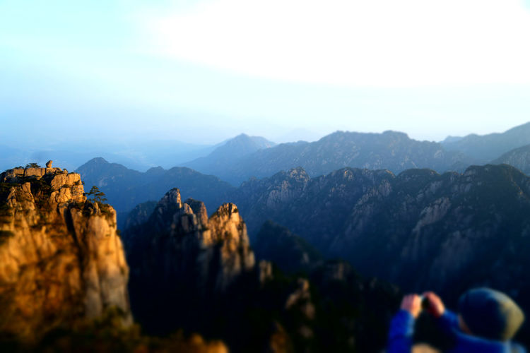 Mount Huangshan Mountains Mountain View Mountain_collection