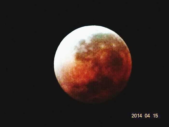 Hello World:) Sony Hx-100 Red Moon