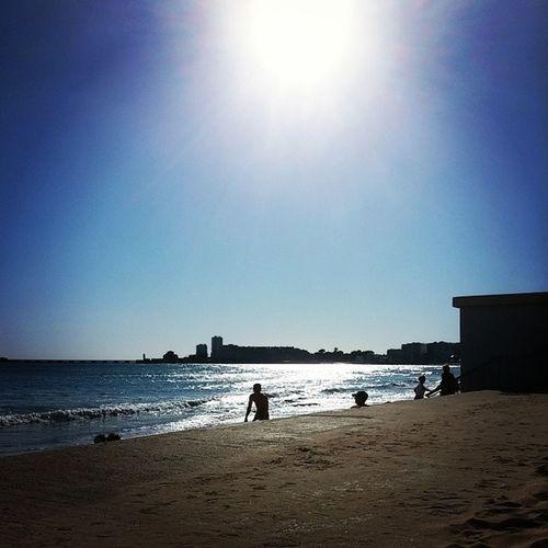 Sunligh beach LSD Beach Sunlight Sunny picofthesay sunnyday bluesky sea