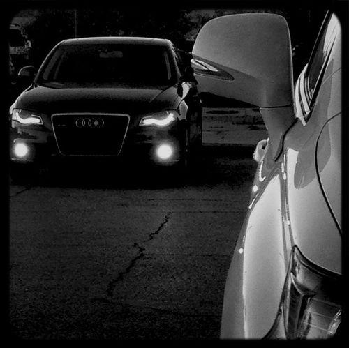 Hello World Audi dragon in the mirror