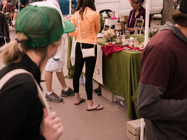 Over the shoulder. Accessories Booth Casual Clothing Lifestyles Men Outdoor Market Purse Shoppers Shoulders Style Tights Up Close Street Photography Women Pursuitofhappiness