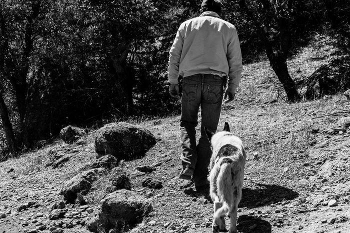 B&W Portrait Black & White Portrait Mananddog Mensbestfriend Ranch Ranch Life