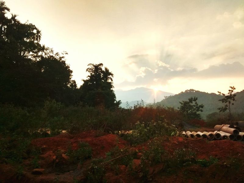 Kudremukh. The face of nature. Karnataka India Kudremukh Sunset First Eyeem Photo