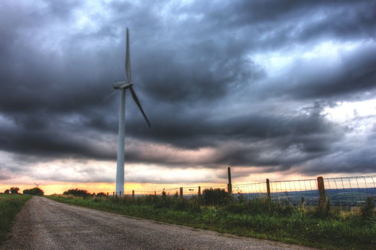 Eolienne du Nord North Pas De Calais Nuages Clouds And Sky Clouds Sky Campagne Golden Hour HDR