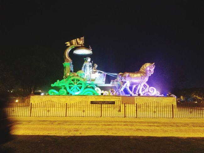 Shri Krishna and Arjun Illuminated