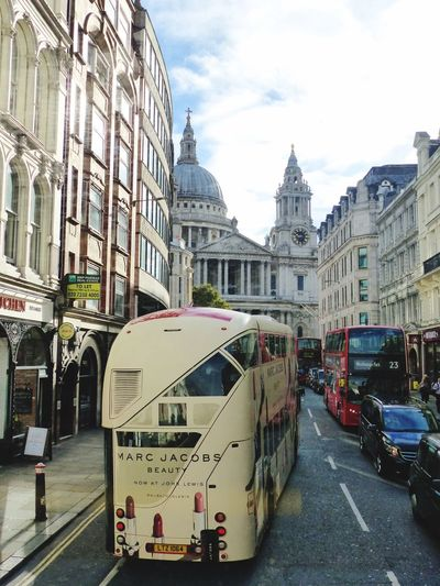 London Icons EyeEm LOST IN London Travel Destinations St Paul's Cathedral London Lifestyle Mode Of Transport LONDON❤ London Bus Street Photography London Streets