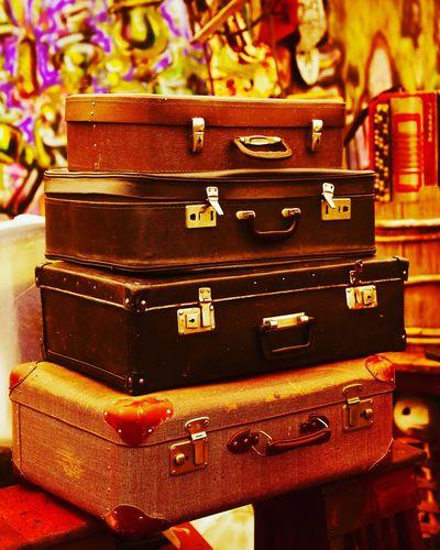 чемодан чемоданы барахолка ретро винтаж Retro Wintage